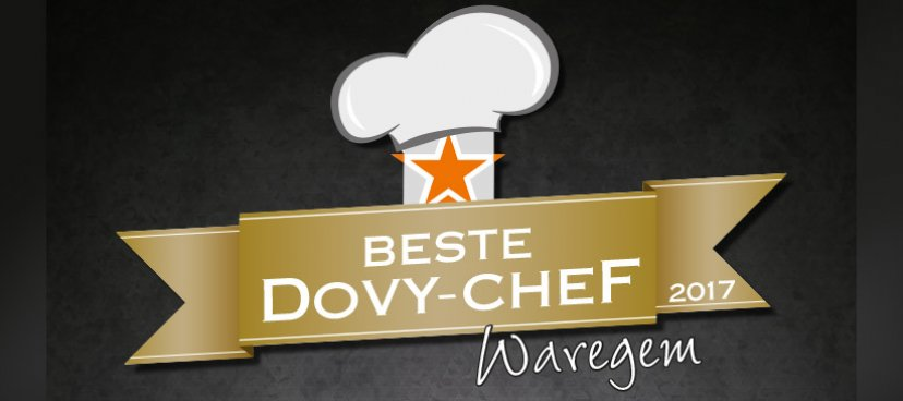 17 september : start 'Beste Dovy-chef Waregem'