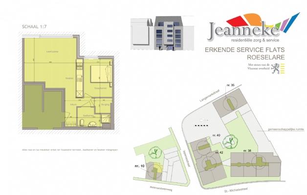 JEANNEKE STANDAARD FLAT 54m²
