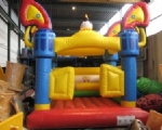 INFLATABLE BOUNCER Model Western with Roof