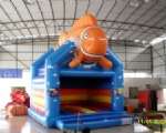INFLATABLE BOUNCER Model Orange Clownfish