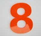 A11 - Reliëfletter in gekleurde plexi