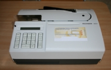 Dienstencheque OCR printer