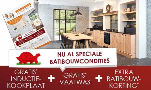 Uw keuken op maat batibouw condities 2017 dovy keukens for Batibouw 2017 datum