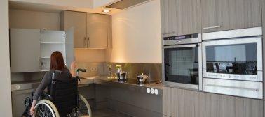 Keukens voor mensen met een beperking
