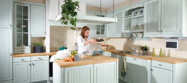 l'espace de travail dans votre cuisine