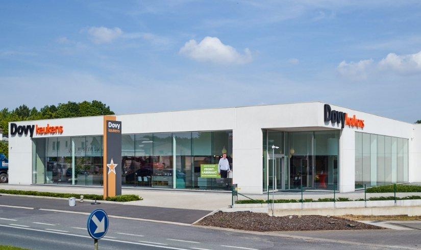 Dovy keukenwinkels in Vlaanderen en Wallonië Dovy keukens