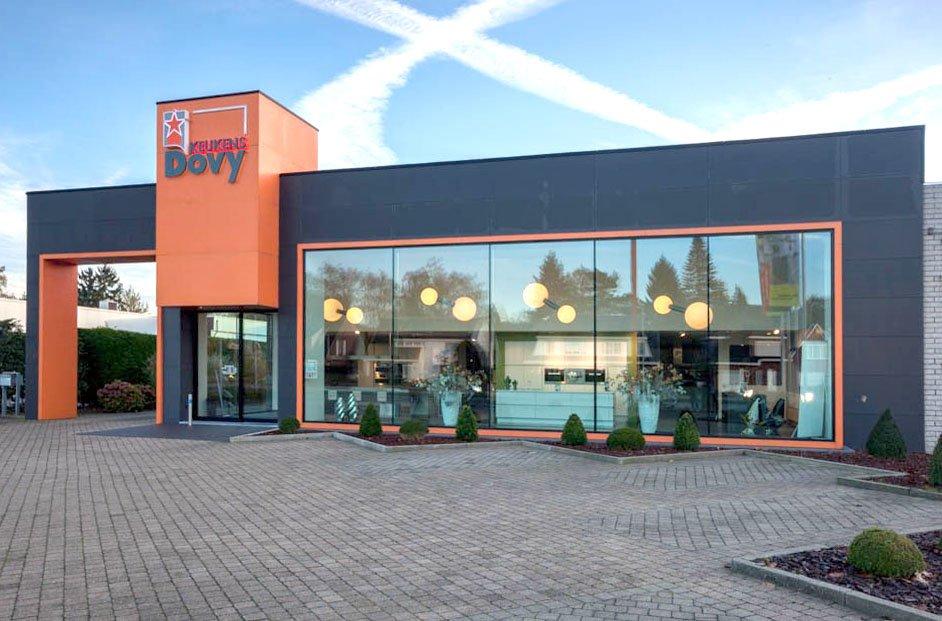 Dovy Keukens Antwerpen : Dovy keukenwinkels in Vlaanderen en Wallonië Dovy keukens