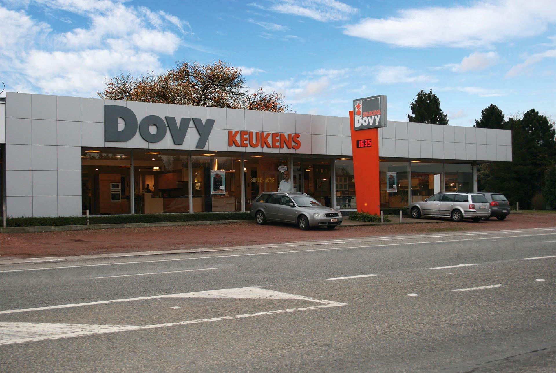 Dovy Keukens Sint Niklaas Toonzaal bezoeken Dovy keukens