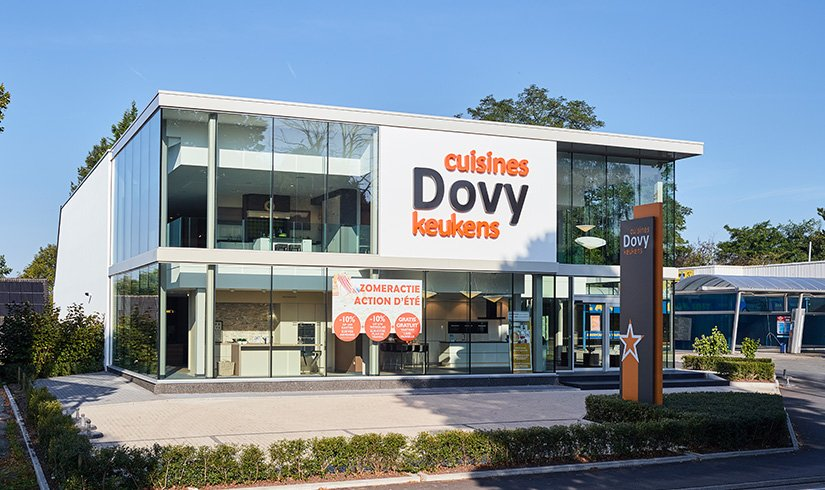 Dovy Keukens Limburg : Dovy keukenwinkels in Vlaanderen en Wallonië Dovy keukens