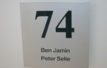 Naamplaten - huisnummers